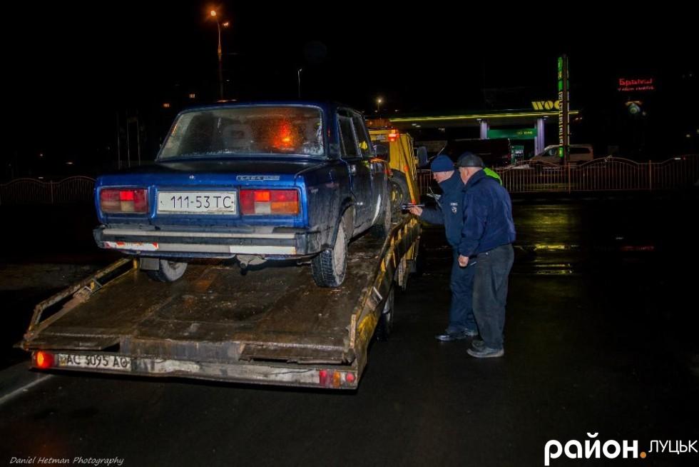 Тепер своє авто Сергій шукатиме на штрафмайданчику