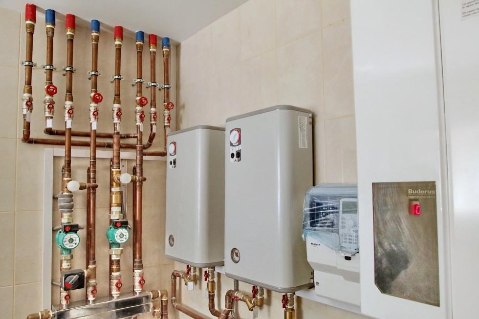 Фото схема электро отопления