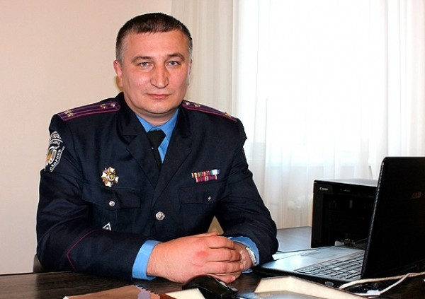 Начальник управління поліції охорони Волинської області Ярослав Косинець