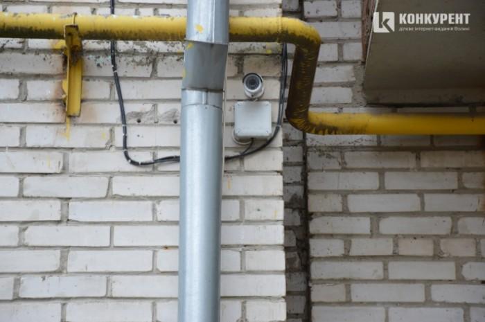 Відеокамера спостереженння житлового комплексу