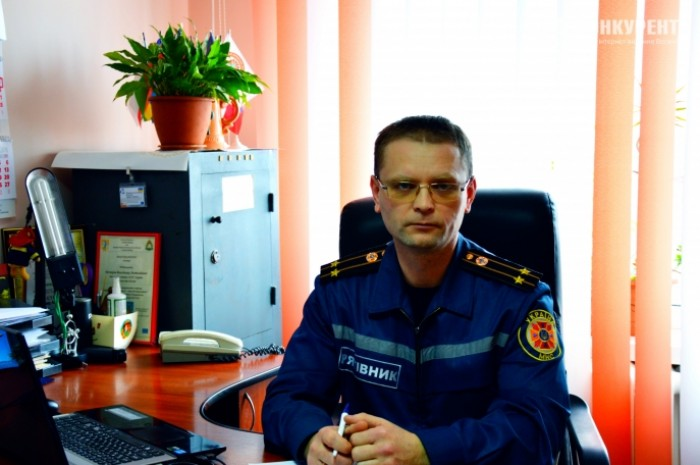 Начальник сектору взаємодії зі ЗМІ та роботи з громадськістю Володимир Нестеров