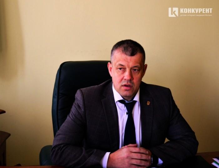 Начальник Луцького відділу поліції Ігор Муковоз