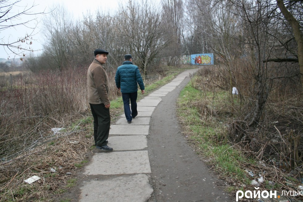 Цією дорогою мешканці Ківерцівської добираються до залізниці