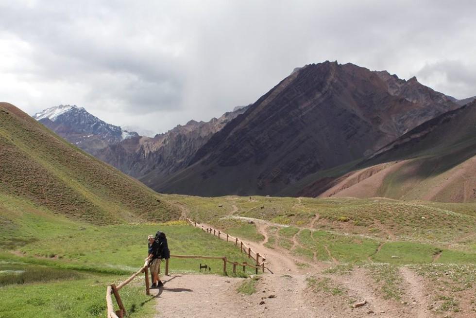 Початок маршруту на гору Аконкагуа