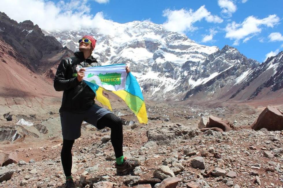 Незважаючи на втому, Олександр Оришко завжди знаходь у собі сили, щоб дійти до найвищої точки гори