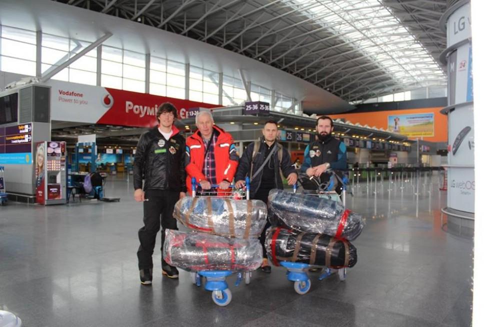 Лучани в повній бойовій готовності в аеропорту Бориспіль