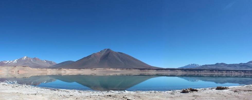 Лагуна Верде біля Охос-дель-Саладо, 4 340 м