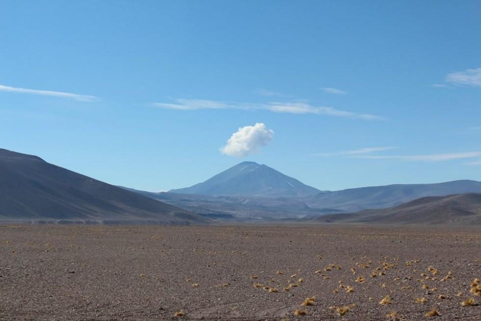 Пустельні краєвиди чилійських гір