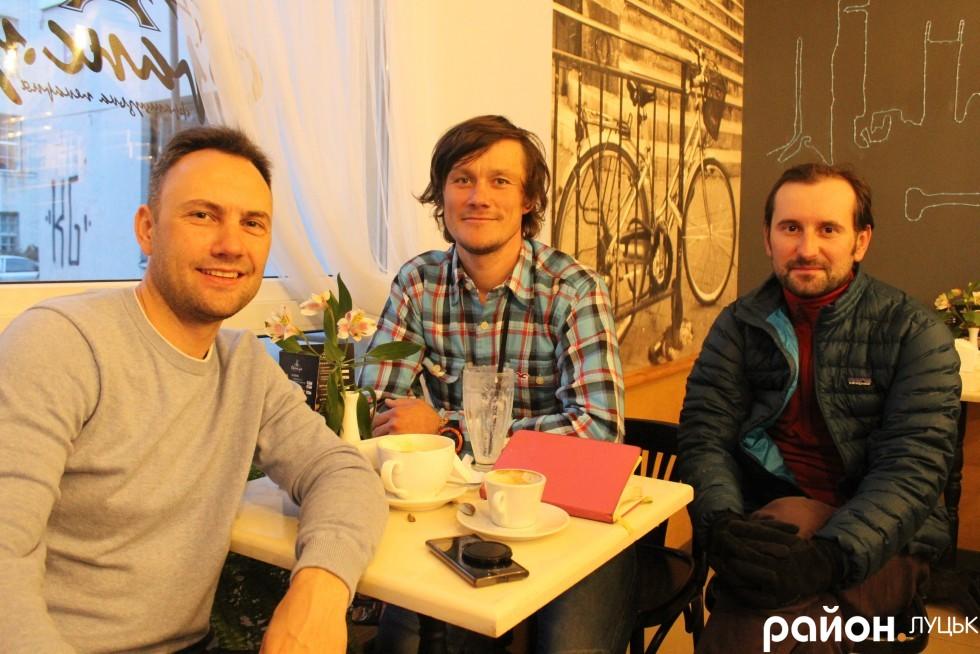 Альпіністи Денис Пєсков, Олександр Оришко та Андрій Єрко діляться враженнями від подорожі Південною Америкою