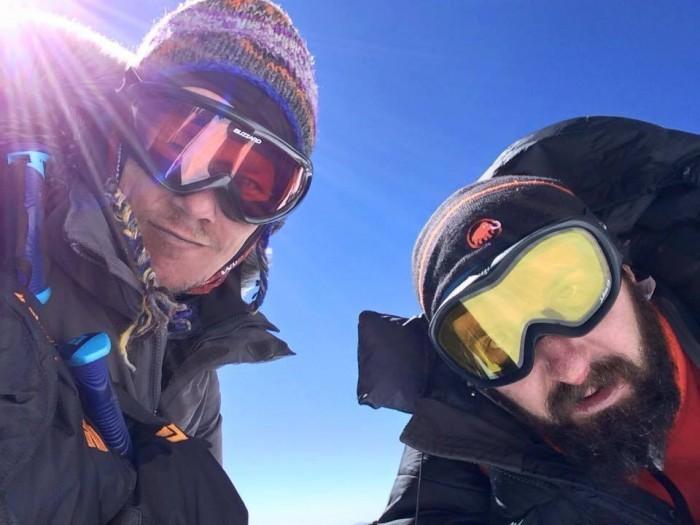 Олександр Оришко та Андрій Єрко підіймаються на вершину Аконкагуа