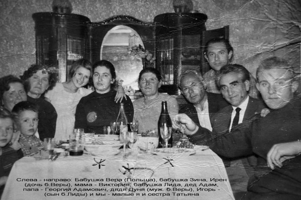 Родина Мірецьких