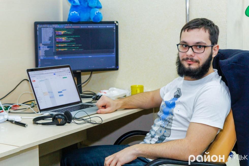 Керівник «Drudesk» Іван Тібеж переконаний, що ІТ-сфера для Луцька перспективний напрямок розвитку, але у місті можливості для програміста обмежені