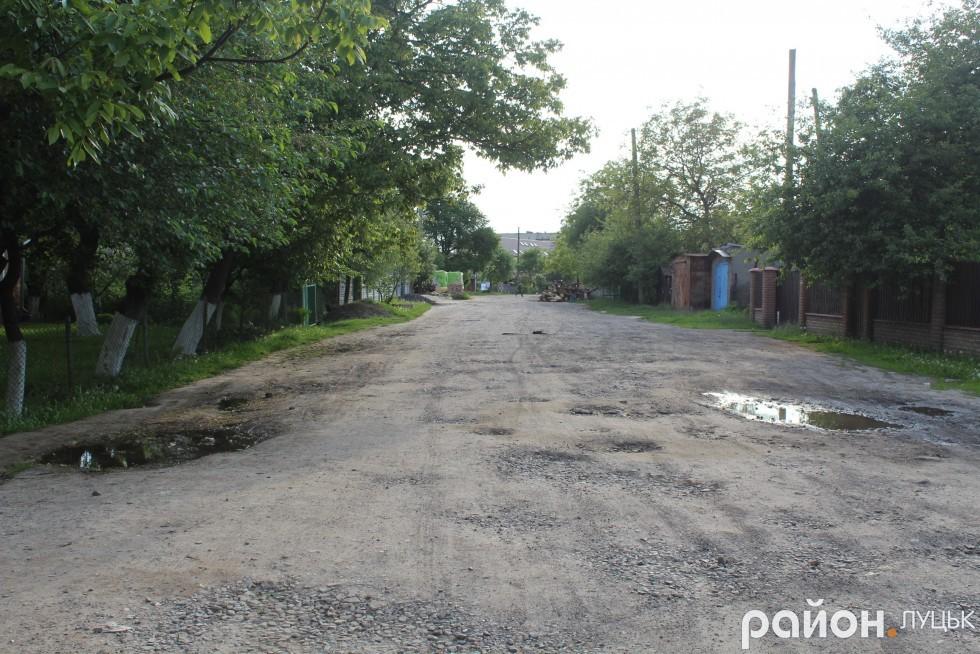 Жителі вулиці Марка Вовчка чекають хоча б на поточний ремонт дороги