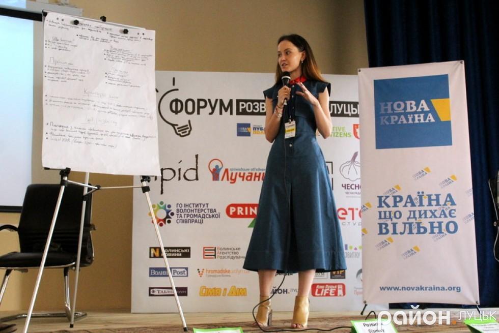 Юлія Євпак озвучила ідею створення онлайн-ресурсу, на якому б вказували всі правила гри для потенційного інвестора