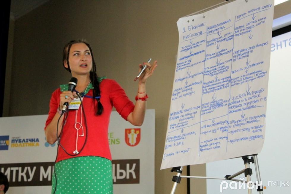 Мар'яна Сорочук розповідає про якість життя у Луцьку