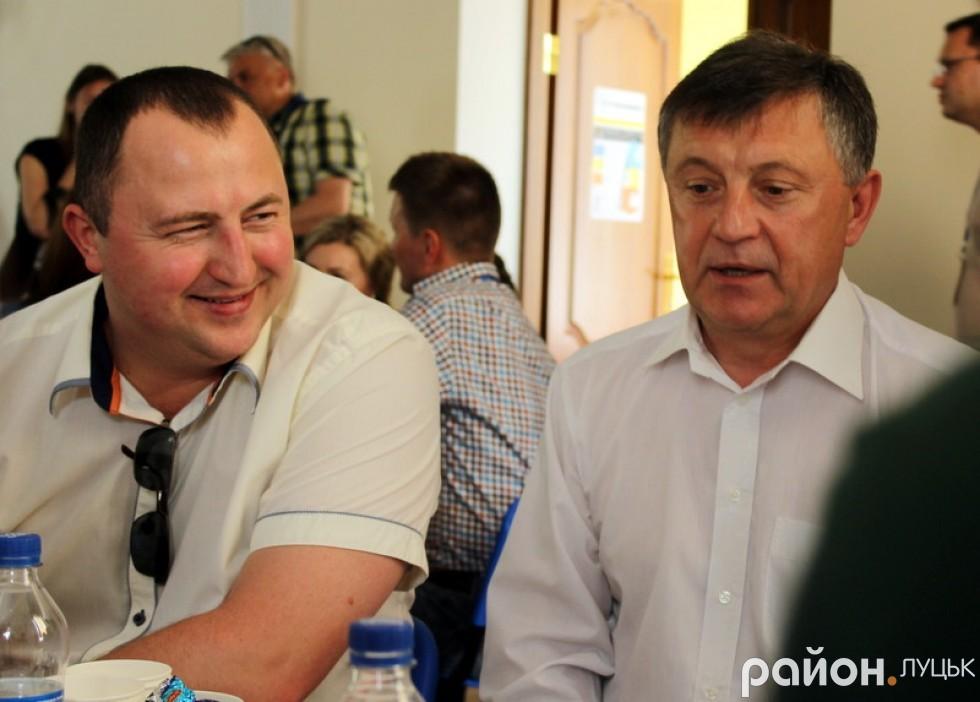 Тарас Божидарник та Богдан Шиба також прийшли, щоб запропонувати своє бачення розвитку міста