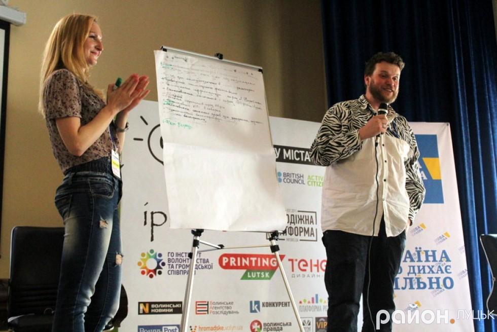Олена Кравчук та Леонід Тивонюк презентували швидкі перемоги своєї групи