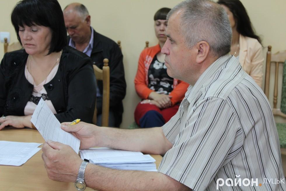 Заступник головного лікаря обласного Центру екстреної медичної допомоги Володимир Шмаль