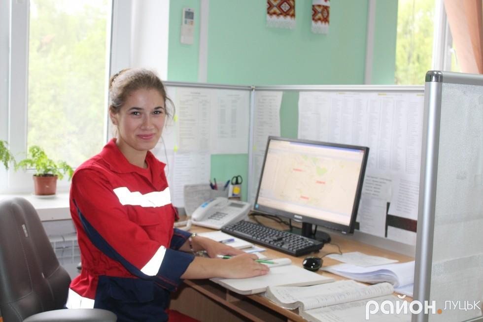 Фельдшер центру екстреної медичної допомоги Марія Мотиль