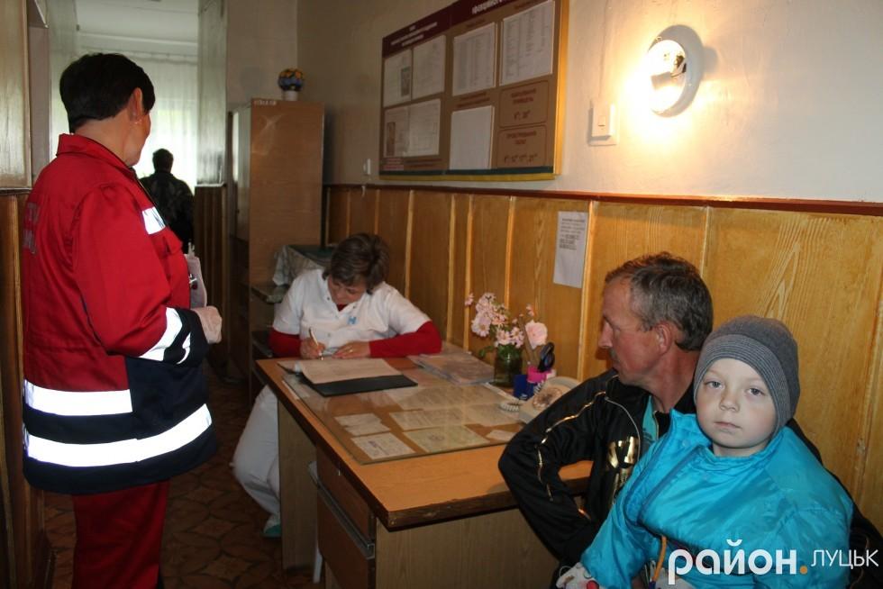 Ківерцівські лікарі забрали пацієнта до себе