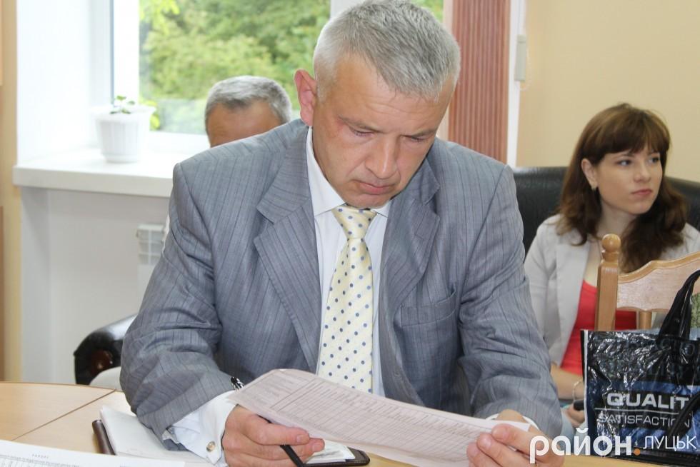 Завідувач Центральної оперативної диспетчерської Центру екстреної медичної допомоги Андрій Абрамов