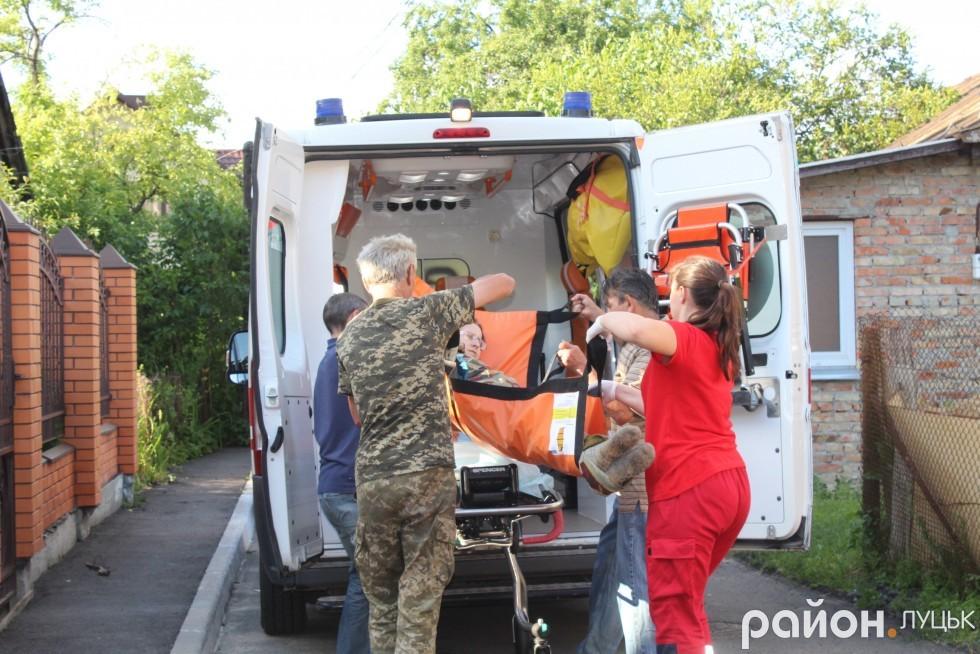 Пацієнтку будуть транспортувати до міської лікарні