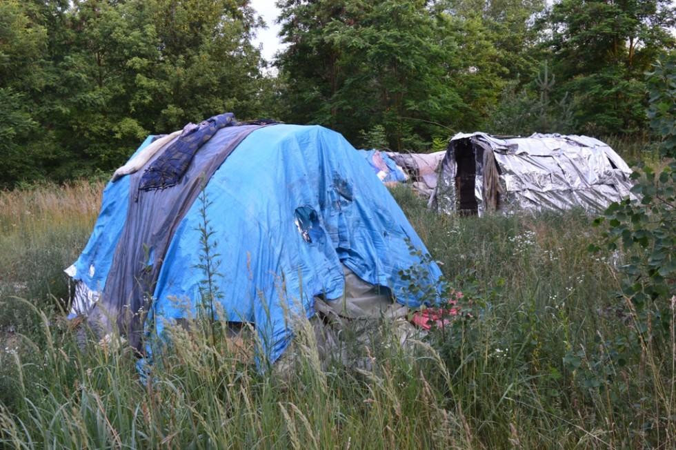 Життя в диких умовах навчає безхатьків виживати і використовувати підручні матеріали для того, аби спорудити житло
