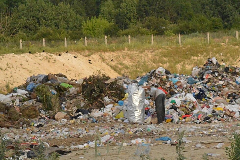 Безхатченки мимоволі виконують важливу місію - сортують сміття