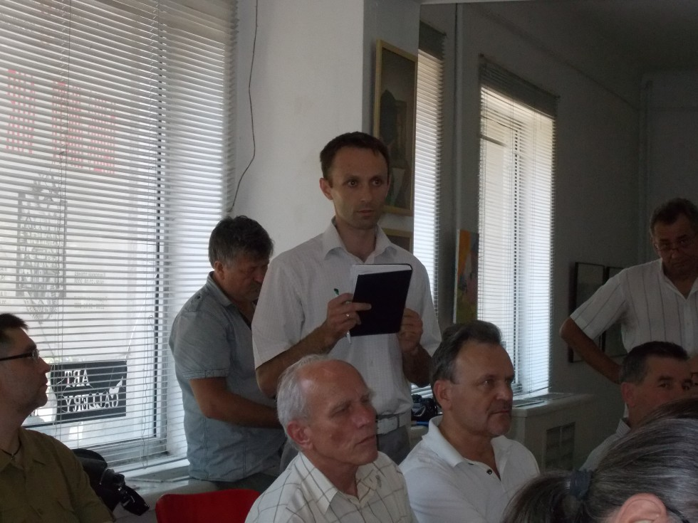 Юрій Войт - представник інвестора