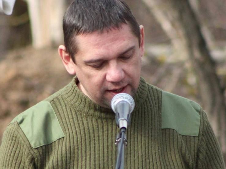 Голова Волинської обласної організації партії «Наш край» Валерій Гнатюк