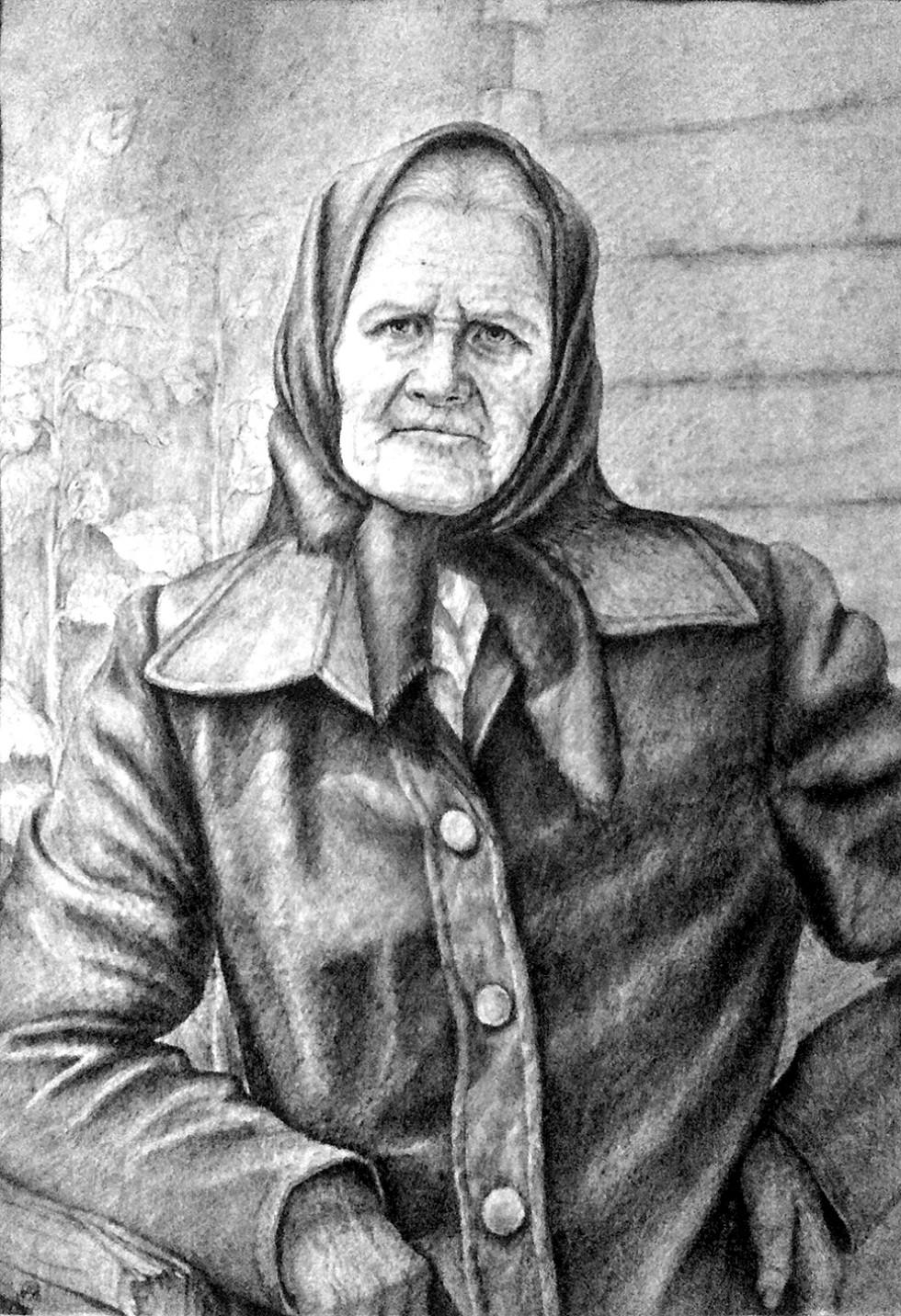 Портрет бабусі Маріанни Ілюшик