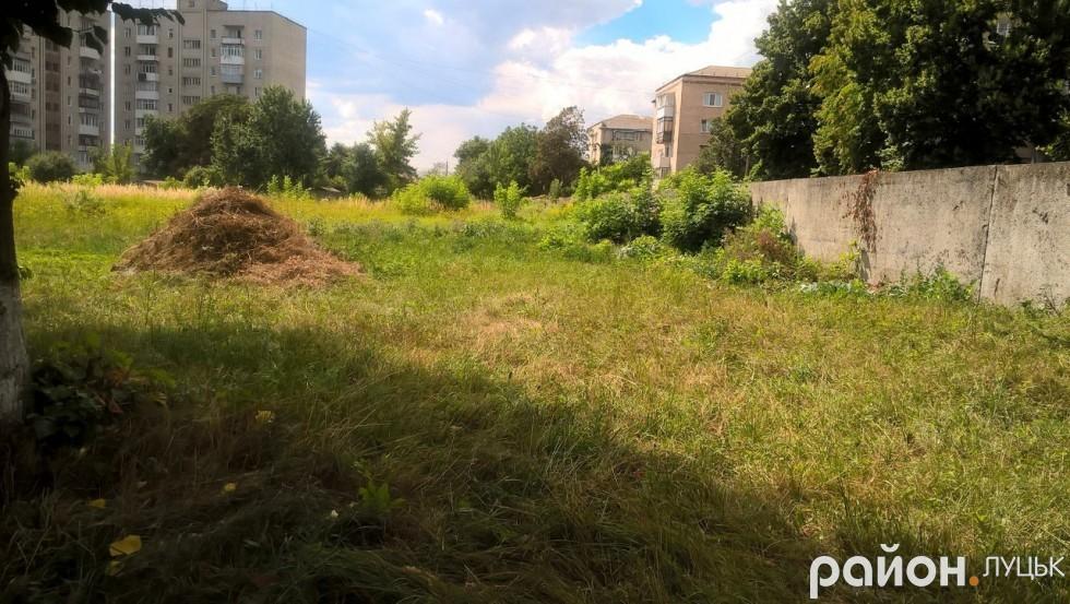 Тут мешканці пропонують облаштувати дитячий майданчик. Чому території пустувати?