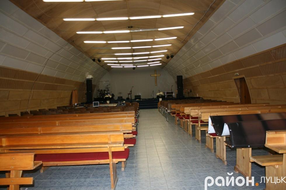 Тимсасовий зал для богослужінь спорудили за кілька місяців