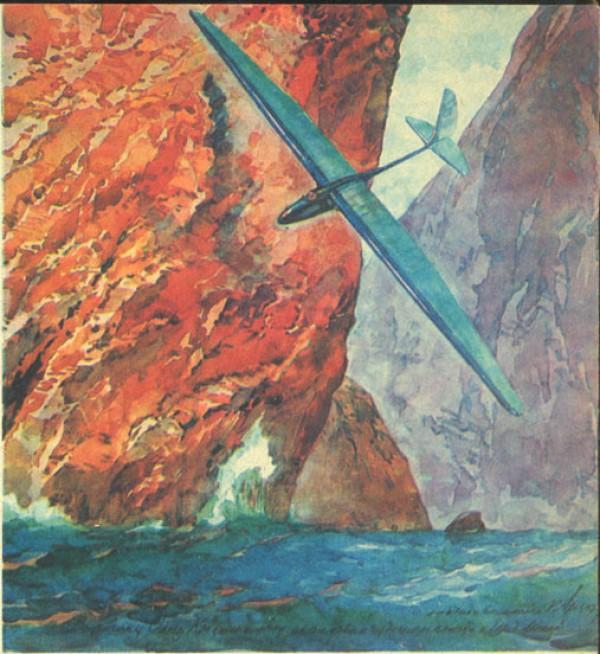 980, Остання картина Арцеулова «Планер над морем», epizodsspace.no-ip.org