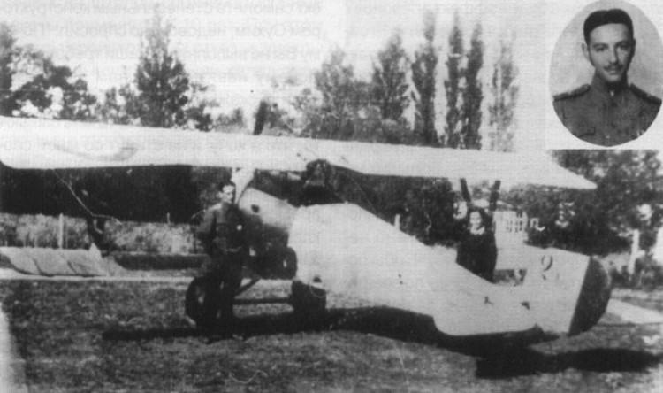 1916, Ньюпор-21, на якому здійснений вихід зі штопора, armyman.info