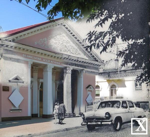 Вулиця Богдана Хмельницького і театр ляльок