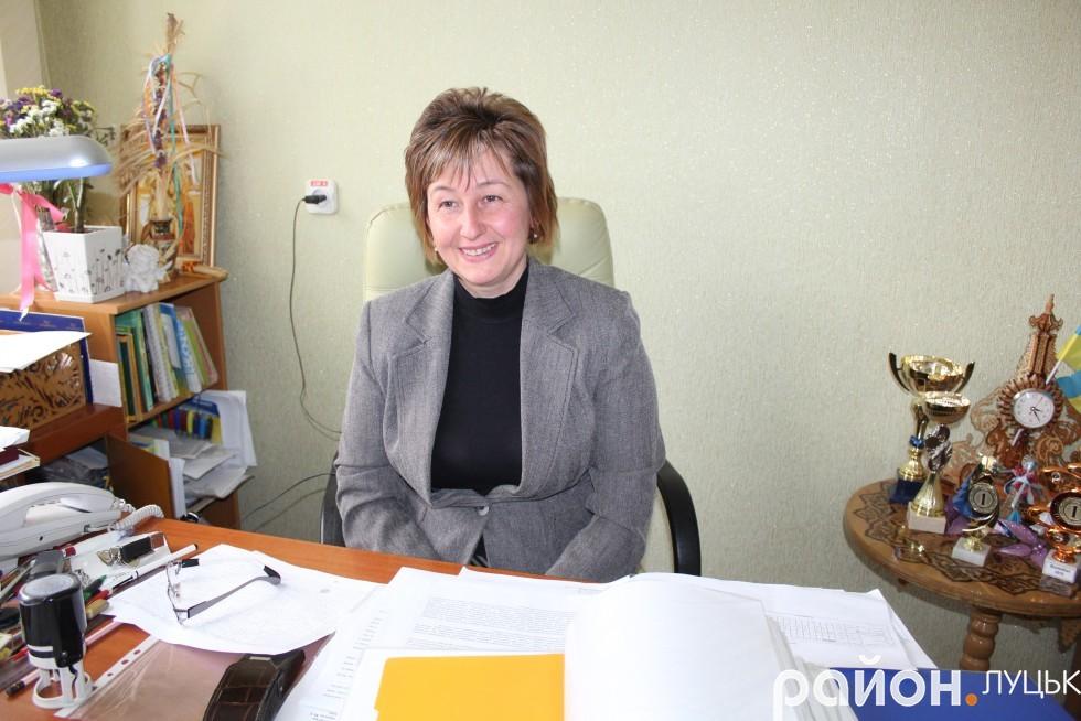 Директор школи Наталія Чорна