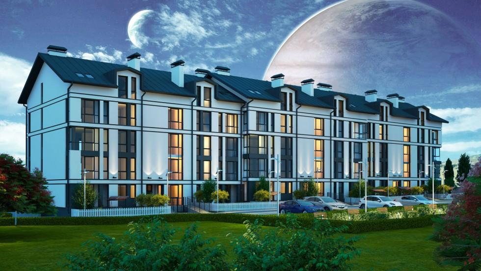 Житловий комплекс «Юпітер» стане основою для нового району Липин. Джерело фото: investor.lutsk.ua