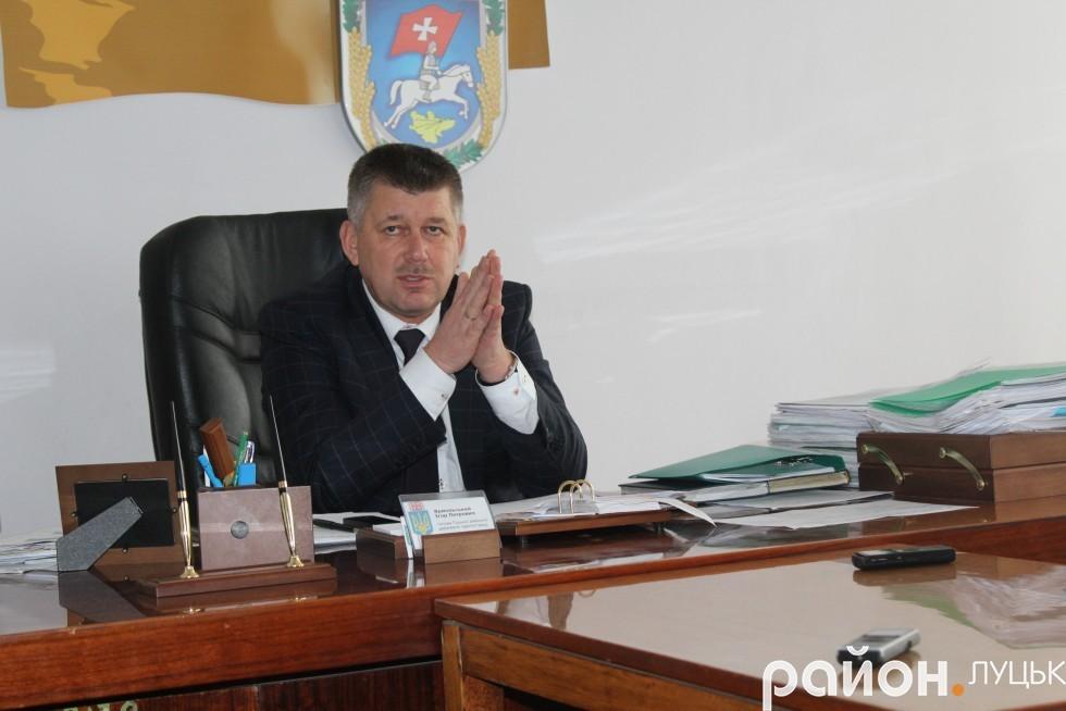 Голова Луцької РДА Ігор Ярмольський