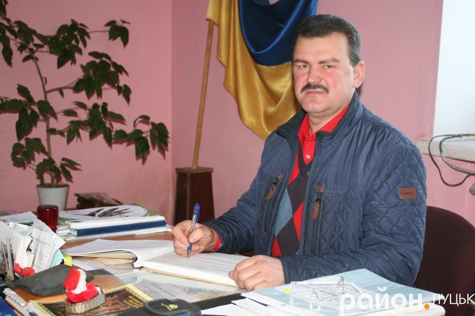 Голова Садівської сільської ради Іван Шендюх
