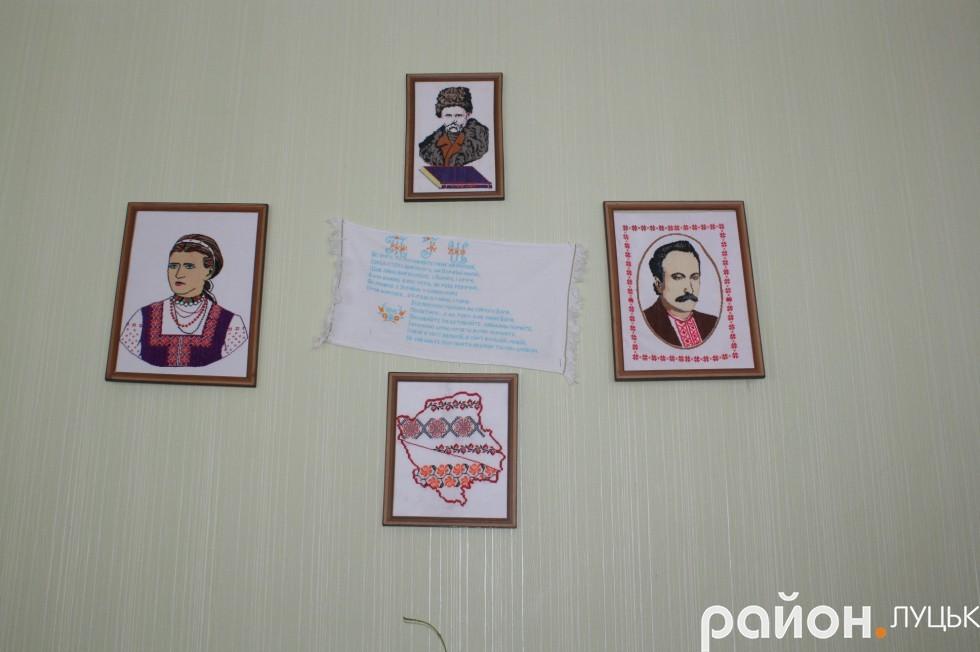 Роботи вихованців гуртка Народна вишивка