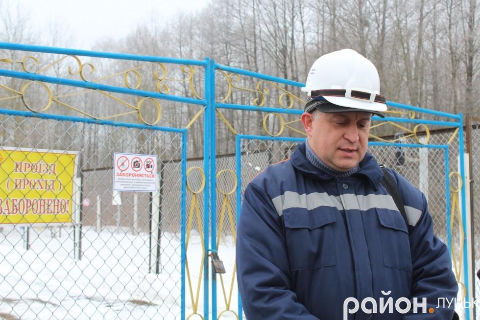 Головний інженер Волинського управління магістральних газопроводів Вадим Шавлай