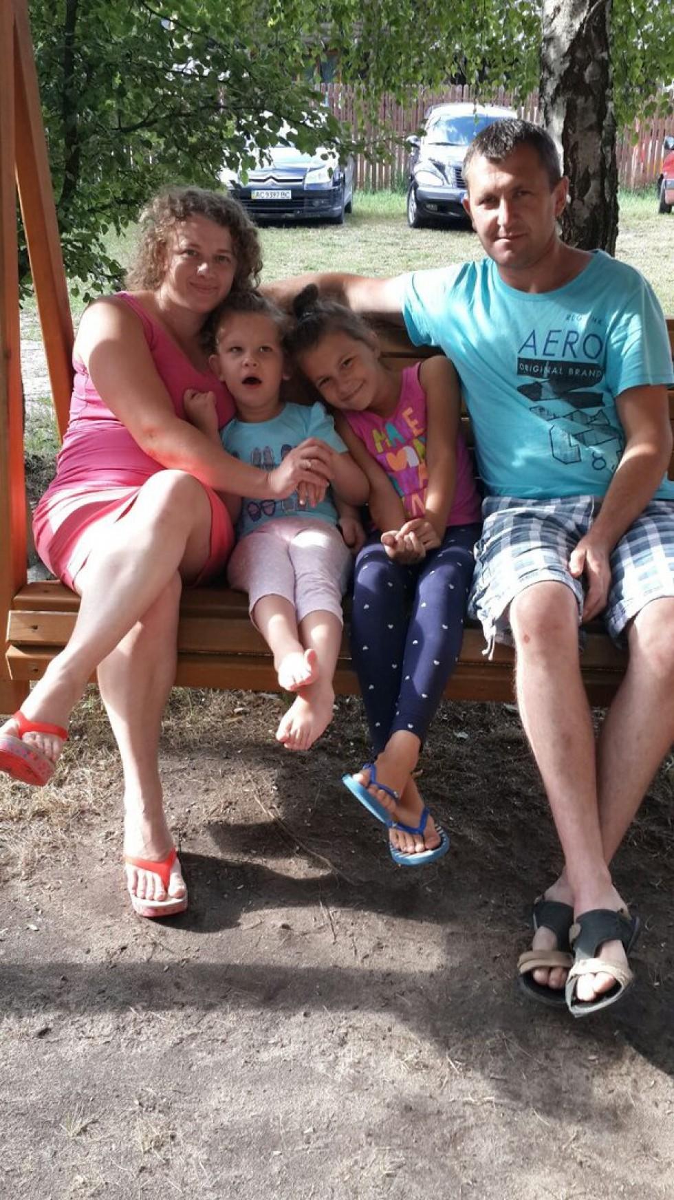 Дочка Таїса та її сім'я