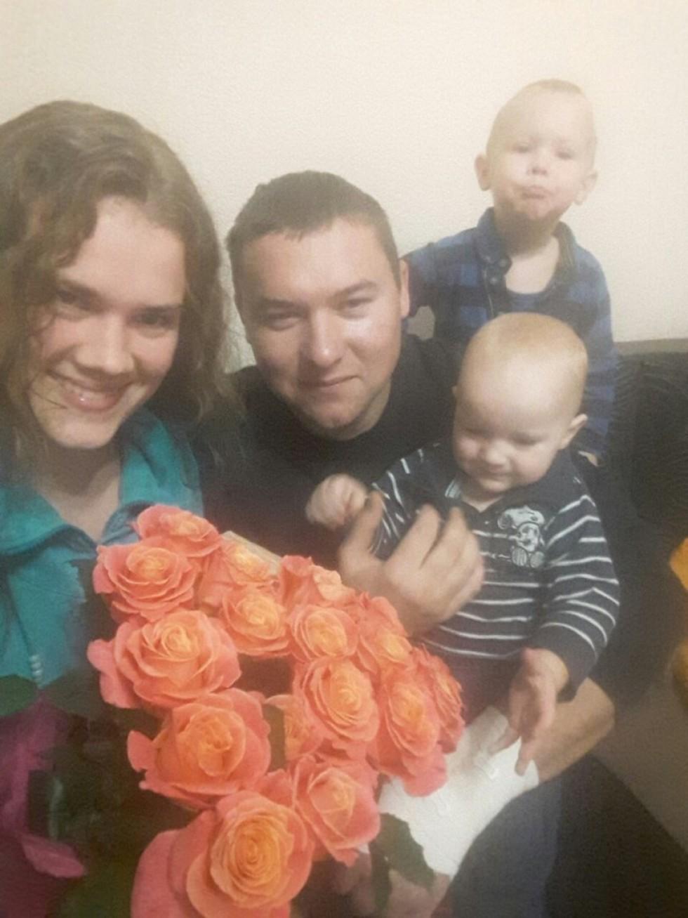 Дочка Оксана і її сім'я
