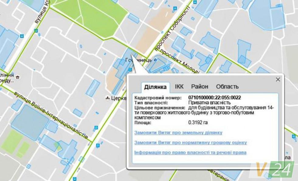 Земельна ділянка під ''Егоїстом'' та частина будівлі належить депутатові міськради Сергію Булі