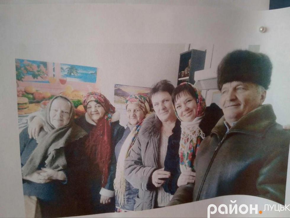 З архіву клубу села Милуші