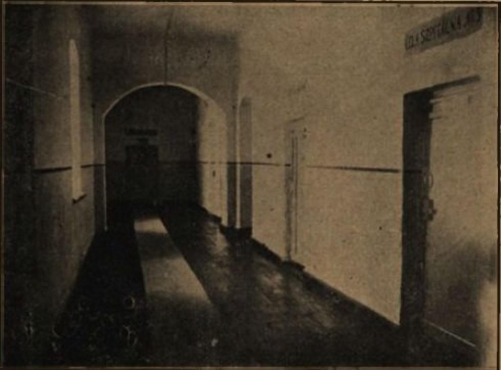 Коридор в лікарні Луцької тюрми
