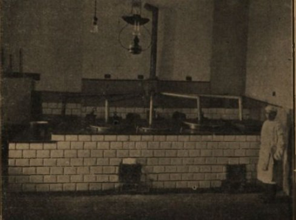 Кухня в Луцькій тюрмі
