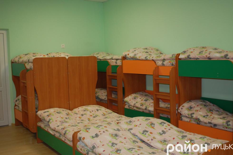 Ліжка, на яких сплять діти