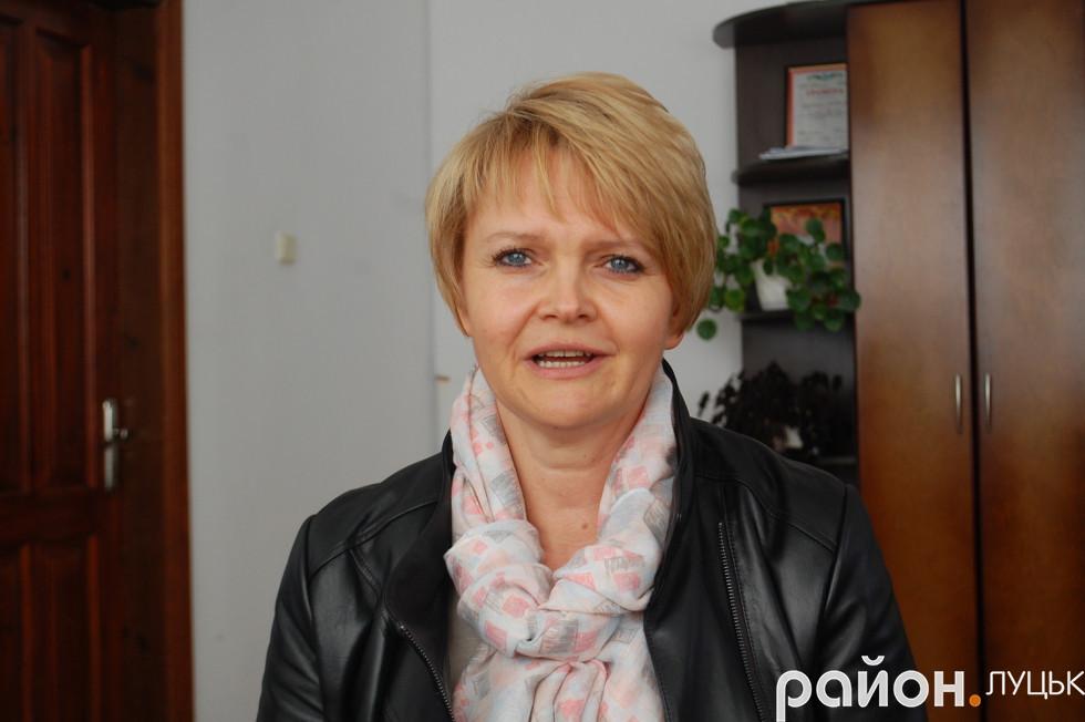 Голова Княгининівської ОТГ Олена Твердохліб